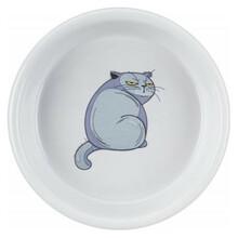 TRIXIE Miska ceramiczna z grafiką kota 250 ml