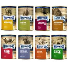 HAPPY DOG PAKIET 8x400g Mix smaków - Mokra karma dla psa