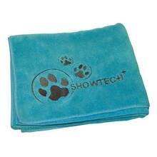 Show Tech - miękki ręcznik z mikrofibry, turkusowy, rozmiar 90 cm x 56 cm