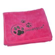 Show Tech - miękki ręcznik z mikrofibry, różowy, rozmiar 90 cm x 56 cm