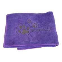 Show Tech - miękki ręcznik z mikrofibry, fioletowy, rozmiar 90 cm x 56 cm