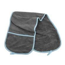 Furrish - miękki ręcznik z mikrofibry, z kieszeniami na dłonie