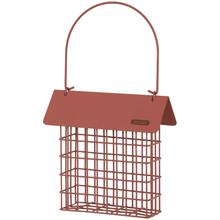 ZOLUX Dystrybutor do bloków tłuszczowych z daszkiem, kolor ceglasty