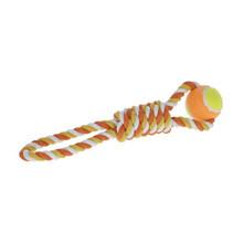 KERBL Zabawka piłka na lince, 37 cm