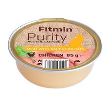 FITMIN Cat Purity alutray Chicken - Kompletna karma mokra kotów, 85g