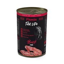 FITMIN FOR LIFE Dog Monoprotein Beef - mokra karma dla psa