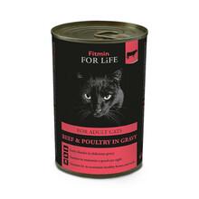 FITMIN For Life Cat Tin Beef - mokra karma dla kota, puszka 415g