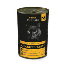 FITMIN For Life Cat Tin Chicken kitten - mokra karma dla kociąt, puszka 415g