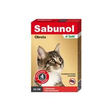 Sabunol - obroża przeciwpchelna dla kotów 35cm TERAZ DWA KOLORY!