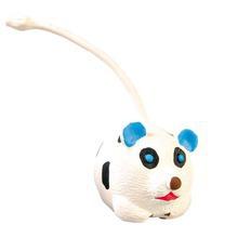 Trixie - piłka lateksowa z ogonkiem, zabawka dla psa