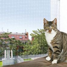 Trixie Cat Protect- siatka zabezpieczająca okno lub balkon dla kota, przeźroczysta