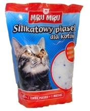 MRU MRU - silikatowy żwirek dla kotów 5l