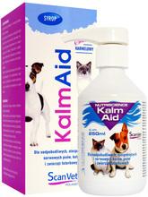 ScanVet- Kalm Aid 250 ml- preparat zmniejszający nadpobudliwość nerwową u psów, kotów, norek i innych zwierząt