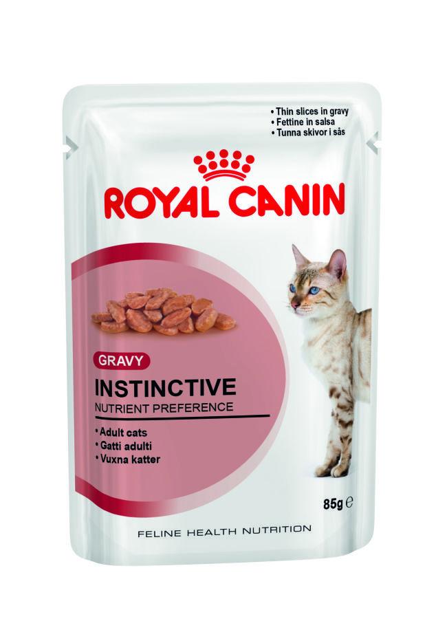 ROYAL CANIN Instinctive- karma dla kotów dorosłych, saszetka 85g