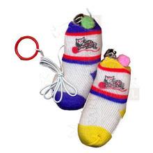 KARLIE Skarpetka z dzwonkiem i kocimiętką- zabawka dla kota