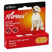 FIPREX - krople przeciwko pchłom i kleszczom dla psów L - jedna tubka 4ml