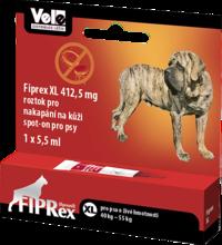 FIPREX - krople przeciwko pchłom i kleszczom dla psów XL - jedna tubka 5,5ml PROMOCJA CENOWA!
