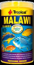 TROPICAL MALAWI - wieloskładnikowy pokarm w formie płatków dla pielęgnic mbuna z jeziora Malawi