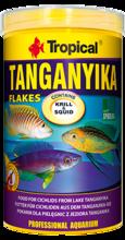 TROPICAL ANGANYIKA - wieloskładnikowy pokarm w formie płatków dla pielęgnic z jeziora Tanganika