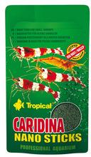 TROPICAL CARIDINA NANO STICKS - mikropałeczki dla krewetek karłowatych, saszetka 10g