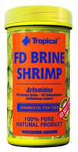 TROPICAL FD BRINE SHRIMP - pokarm dla wszystko i mięsożernych ryb, puszka 100ml