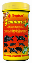 TROPICAL GAMMARUS - suszony kiełż zdrojowy dla żółwi wodnych i lądowych oraz dużych ryb akwariowych