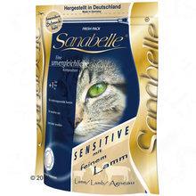 Bosch Sanabelle Sensitive Lamm -sucha karma z jagnięciną dla kota 400g, 2kg