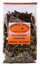 Herbal Pets ziele mniszka z kwiatem-karma uzupełniająca dla królików, szynszyli, świnek morskich, koszatniczek, chomików, myszek 80g