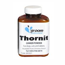 GROOM PROFESSIONAL - Thornit Ear Powder - lecznicza zasypka do uszu, łap i odbytu zwierząt, 20g