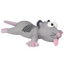 Trixie Szczurek/ Mysz - piszcząca, lateksowa zabawka dla psa
