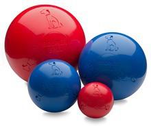 BOOMER BALL piłka z wytrzymałego tworzywa - niezniszczalna zabawka dla psa, unosi się na wodzie!