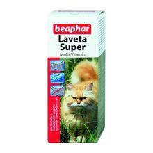 Beaphar Laveta Super Kot- preparat multiwitaminowy dla kotów z problemami okrywy włosowej 50ml