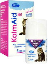 KalmAid - Przy nadpobudliwości, niepokoju i stresie u kota, 50ml