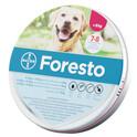 Bayer Foresto obroża przeciw pchłom i kleszczom dla psów powyżej 8kg wagi ciała + komplet odblaskowych przypinek GRATIS! Bezzapachowa i wodoodporna!