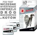 Certech Benek Veterinary FUS Test - do wczesnego wykrywania infekcji dróg moczowych u kotów