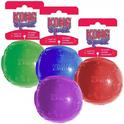 KONG - Squeezz Ball - piłka piszcząca super odbijająca się
