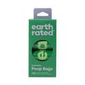 EARTH RATED PoopBags - biodegradowalne woreczki na psie kupy, zestaw 8 rolek x 15szt ZAPACH LAWENDY!