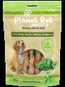PLANET PET SOCIETY 2in1 Meaty Snacks Chicken & Spinach - Kurczak ze szpinakiem - przysmaki dla psa, 70g