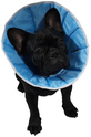 GRANDE FINALE - kołnierz pozabiegowy z tkaniny dla psów, kolor jasny niebieski