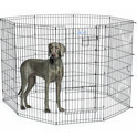 Mid West Life Stages Exercise Pen - kojec metalowy dla psa, panele 61cm x 122cm (wys. x szer.)