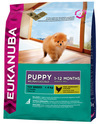 EUKANUBA Toy Breed Puppy Chicken - pełnowartościowa karma dla szczeniąt ras miniaturowych, 800g