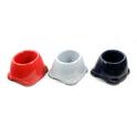 YARRO miska plastikowa, spanielówka, dla psów z długimi, zwisającymi uszami, 0,6L
