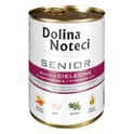 DOLINA NOTECI Senior - mokra karma z cielęciną dla starszych psów, 400g
