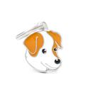 MY FAMILY Jack Russel Orange - adresówka dla psa