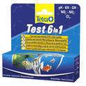 TETRA Test 6 in 1 - szybka kontrola parametrów wody, 25szt.