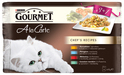 Purina Gourmet A la Carte kurczak, pstrąg, wołowina, łosoś - karma dla kota, 3+1