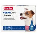 Beaphar VERMICON DOG S - Preparat na ektopasożyty dla psów (do 15 kg) 3x1,5mm