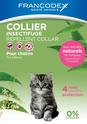 FRANCODEX obroża przeciw insektom dla kotów lub kociąt