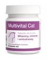 DOLFOS - Multivital Cat - Tabletki dla kotów mineralno-witaminowo-aminokwasowe, 90 tabletek