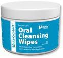 VETFOOD Maxi/Guard Oral Cleansing Wipes chusteczki do pielęgnacji zębów dla psów i kotów 100szt